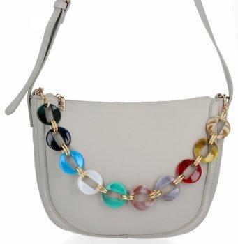 Herisson Firemná dámska taška je ideálna pre každodennú svetlošedú farbu