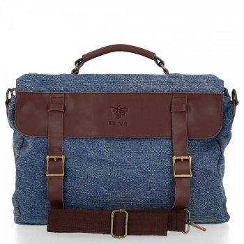 BEE Bag univerzálna taška Messenger Dámska Vintage štýlová Granátová taška