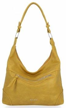 BEE BAG univerzálne dámske ležérne tašky Laida žltý