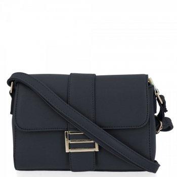 Herisson Firemná taška dámska elegantná taška na posol Čierna