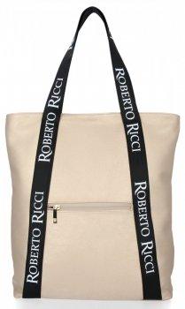 Značkové dámske nakupujúce s módnymi zlotými pásmi od Roberta Ricciho