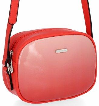 David Jones firemné Dámske tašky Patent kožené Messenger Bag Orange