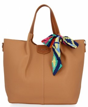 David Jones dámska taška XL Shopper taška s červeným poštár