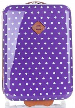 Módne polka-dot kufre od Snowball Purple