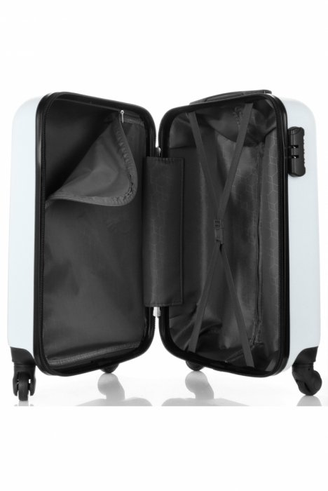 Palubní kufřík 4 kolečka značky Madisson bílá