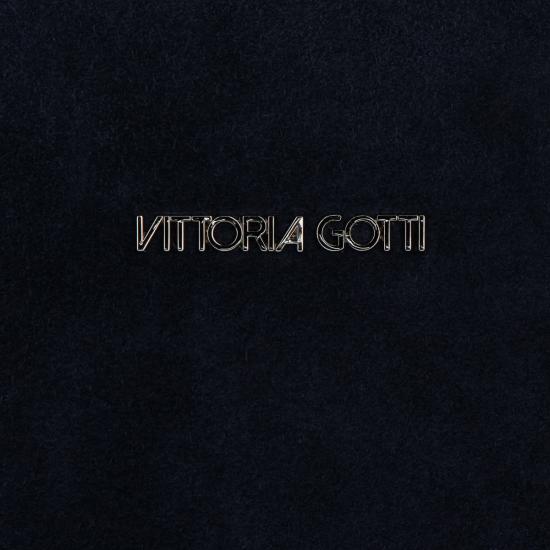 Vittoria Gotti Univerzální Kožená Kabelka Listonoška Tmavě modrá