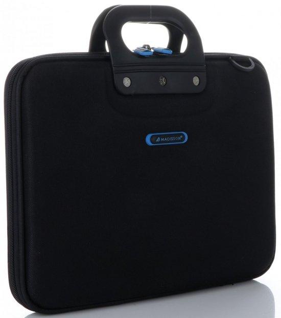 Prostorná taška Madisson Laptop 16'' černá