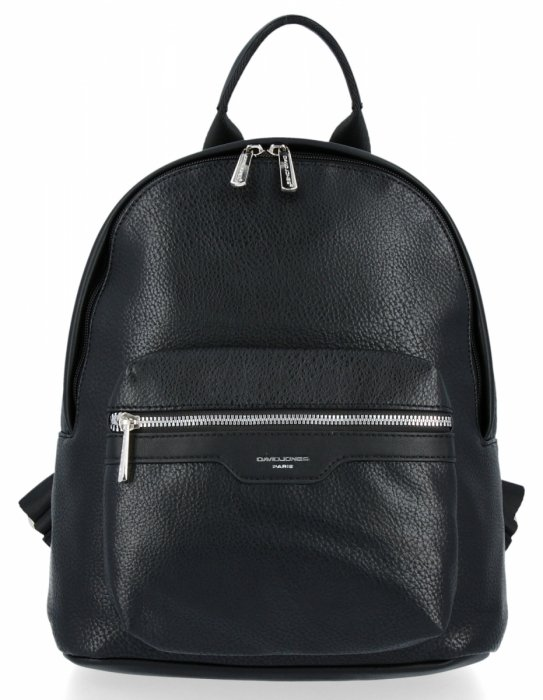 Uniwersalne Solidne Plecaki Damskie firmy David Jones Czarny