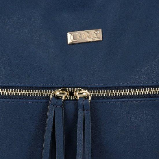 Conci Uniwersalne Torebki Damskie do noszenia na co dzień Granat