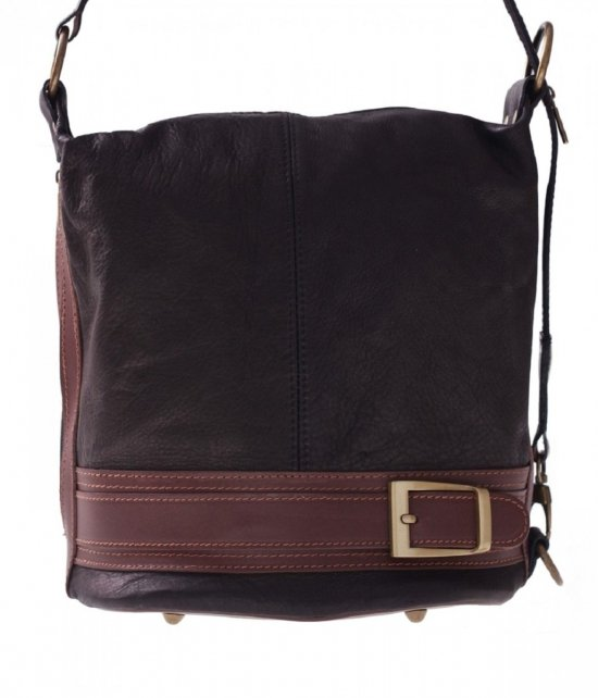 Bag Backpack Mäkká Pravá Koža Čierna