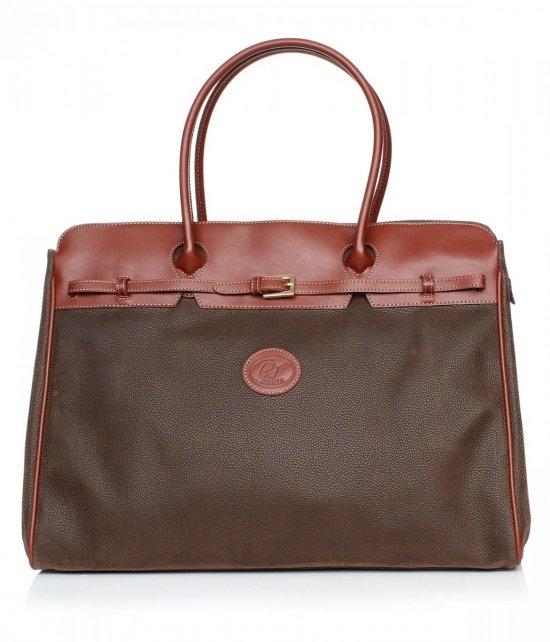 David jones hnedý cestovná taška
