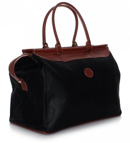 Pevná Cestovná taška David jones Čierna