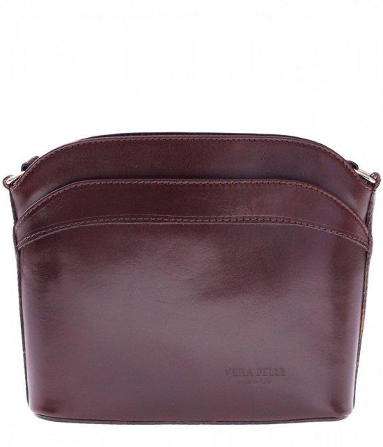 Messenger tašky koža čokoláda