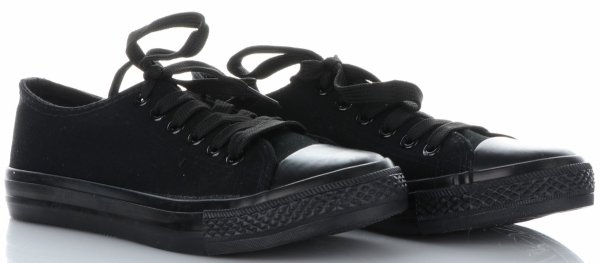 965cdaf070d Univerzální dámské sportovní boty černé - Panikabelkova.cz