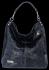 Vittoria Gotti Univerzální Kožené Dámské Kabelky motiv želvy Tmavě Modrá