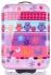 Modne Walizki Kabinówki Dla Dzieci w Sowy Firmy Snowball Multikolor - Fioletowa