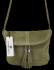 Uniwersalna Listonoszka Skórzana na co dzień w rozmiarze M firmy Vittoria Gotti  Zielona