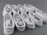 SAMSUNG EP-DG925UWE ORYGINALNY KABEL USB - MICRO USB FAST CHARGE dł.1,2m SAMSUNG GALAXY S6 S6 EDGE S7 S7 EDGE , A7 2018, J4 2018 (biały)