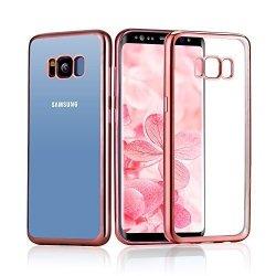 ETUI ELEGANCE PLATE - Samsung Galaxy S8 (pink)