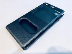 Etui futerał s-view cover - Huawei P8 LITE (szary)