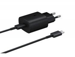 Samsung Super Szybka Ładowarka PD (25W) USB-C Czarna (EP-TA800EBEGWW) A70 A90 S10 5G Note 10