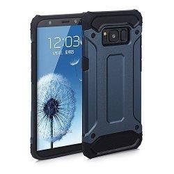Dual Rugged Case Armor - Pancerne etui - Samsung Galaxy S7 EDGE (navy blue)