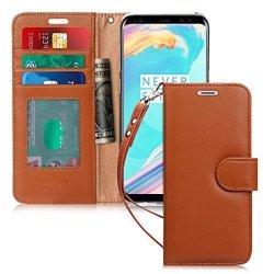 FYY Samsung Galaxy S8 - Etui book case ze smyczką (brązowy)
