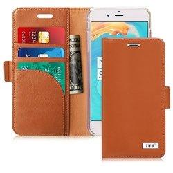 FYY Etui book case - iPhone 7+/8+ (5.5) (brązowy)