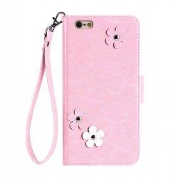 FYY Etui book case ze smyczką - iPhone 6/6S (4.7) (różowy)