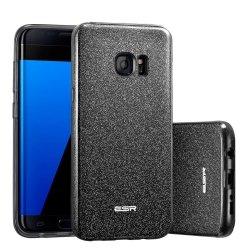 ESR GLITTER Case Etui Samsung Galaxy S7 EDGE (black)