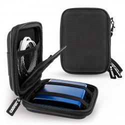 Caseflex Shockproof Hard Drive Case do Twardych Dysków do 2,5 (czarny)