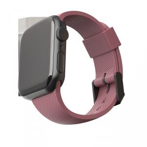 UAG Dot - silikonowy pasek do Apple Watch 42/44 mm (dusty rose)