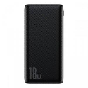 BASEUS BIPOW PD3.0 & QC3.0 POWER BANK 10000MAH BLACK