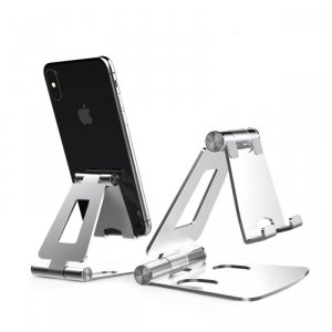 TECH-PROTECT Z16 UNIVERSAL STAND HOLDER SMARTPHONE SILVER