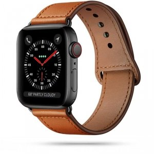 TECH-PROTECT LEATHERFIT APPLE WATCH 2/3/4/5/6/SE (42/44MM) BROWN