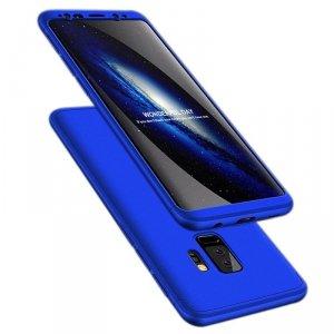 GKK 360 Protection Case etui na całą obudowę przód + tył Samsung Galaxy S9 Plus G965 niebieski