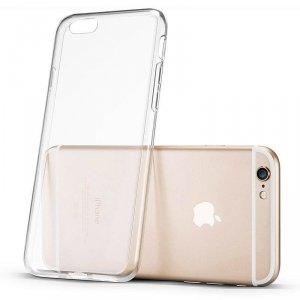 Żelowy pokrowiec etui Ultra Clear 0.5mm iPhone SE / 5S / 5 przezroczysty