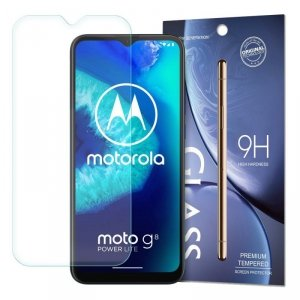 Tempered Glass szkło hartowane 9H Motorola Moto G8 Power Lite (opakowanie – koperta)