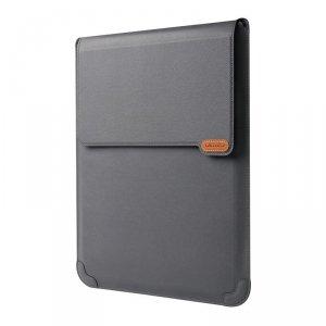 Nillkin Versatile etui torba pokrowiec na laptopa do 14'' z funkcją podstawki i podkładki pod myszkę szary