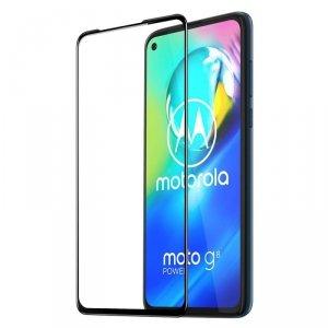 Dux Ducis 9D Tempered Glass wytrzymałe szkło hartowane 9H na cały ekran z ramką Motorola Moto G8 Power czarny (case friendly)