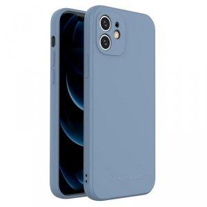 Color Case silikonowe elastyczne wytrzymałe etui iPhone SE 2020 / iPhone 8 / iPhone 7 niebieski