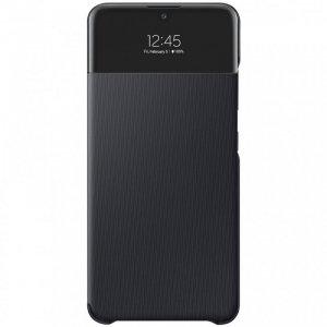 Samsung S View Wallet etui kabura bookcase z inteligentną klapką okienkiem Samsung Galaxy A32 4G czarny (EF-EA325PBEGEE)