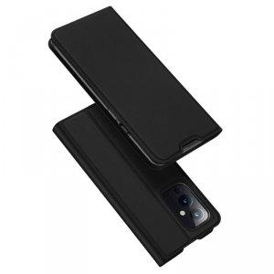 Dux Ducis Skin Pro kabura etui pokrowiec z klapką OnePlus 9 czarny