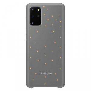 Samsung LED Cover etui pokrowiec Samsung Galaxy S20+ (S20 Plus) szary (EF-KG985CJEGWW)