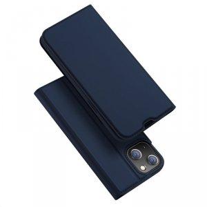 Dux Ducis Skin Pro kabura etui pokrowiec z klapką iPhone 13 niebieski