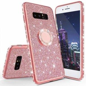 Etui Diamond Ring Glitter Brokat IPHONE 6 różowe