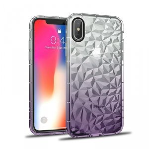Etui Diamond Ombre SAMSUNG GALAXY  A7 2018 fioletowe
