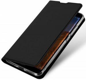 Etui NOKIA 4.2 z klapką Dux Ducis skórzane Skin Leather czarne