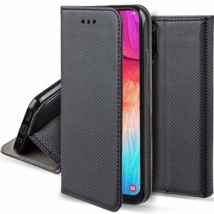 Etui portfel z klapką Flip Magnet XIAOMI REDMI NOTE 8 czarne