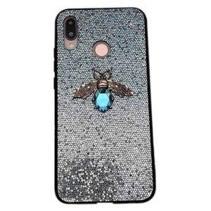 Etui Bee Glitter IPHONE 6 niebieskie